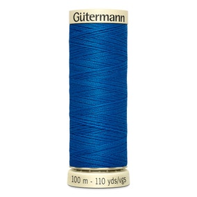 Gutermann Sew All Thread Electric Blue (322)