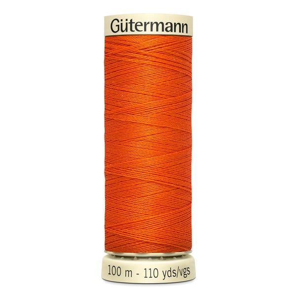 Gutermann Sew All Thread 100m Orange (351) Orange undefined