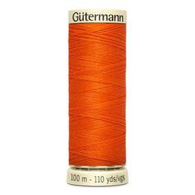 Gutermann Sew All Thread 100m Orange (351)