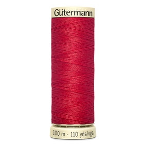 Gutermann Sew All Thread 100m True Red (365)
