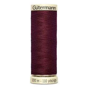 Gutermann Sew All Thread Burgundy (369)