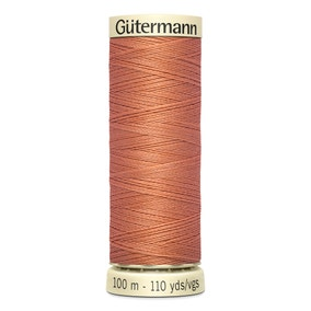 Gutermann Sew All Thread 100m Orange (377)
