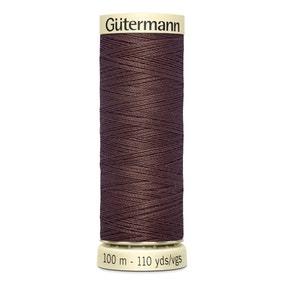 Gutermann Sew All Thread Saddle Brown (446)