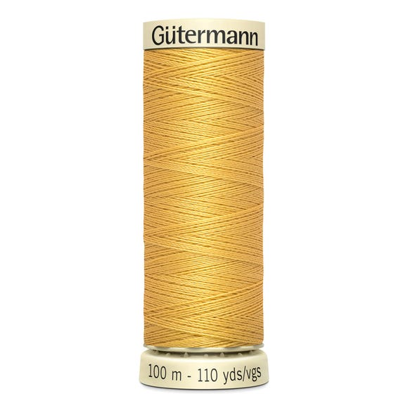 Gutermann Sew All Thread 100m Yellow (488) Yellow undefined