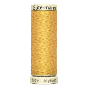 Gutermann Sew All Thread 100m Yellow (488)