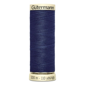 Gutermann 100m Sew All Cotton Thread Dark Denim (537)