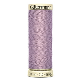 Gutermann Sew All Thread 100m Mauve (568)