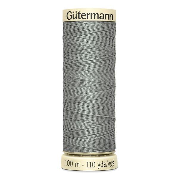 Gutermann Sew All Thread 100m Greymore (634) Grey undefined