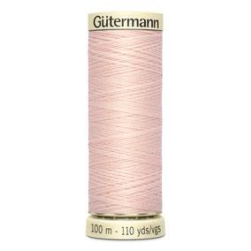 Gutermann Sew All Thread Salmon Buff (658)