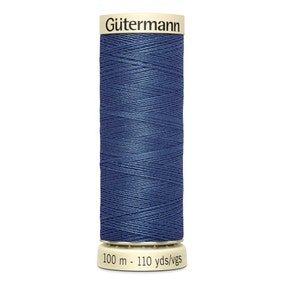 Gutermann Sew All Thread 100m Blue (068)