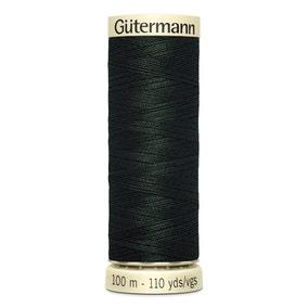 Gutermann Sew All Thread 100m Dark Green (687)