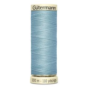 Gutermann 100m Sew All Cotton Thread Light Sky Blue (71)