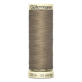 Gutermann Sew All Thread 100m Light Brown (724)