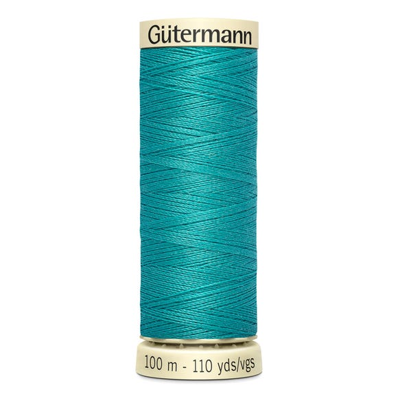 Gutermann Sew All Thread 100m Bright Peacock (763) Jade undefined
