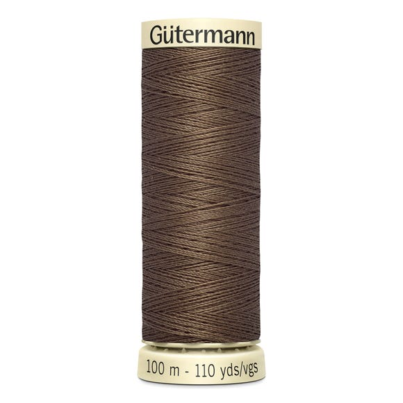 Gutermann Sew All Thread 100m Cocoa (815) Brown undefined