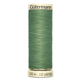 Gutermann Sew All Thread 250m Green (821)