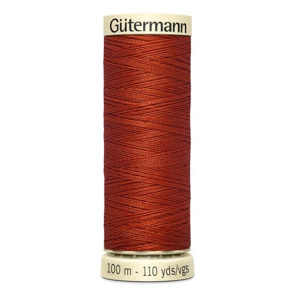 Gutermann Sew All Thread 100m Brick (837) Brick undefined