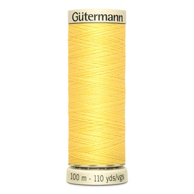 Gutermann Sew All Thread Lemon Peel (852)