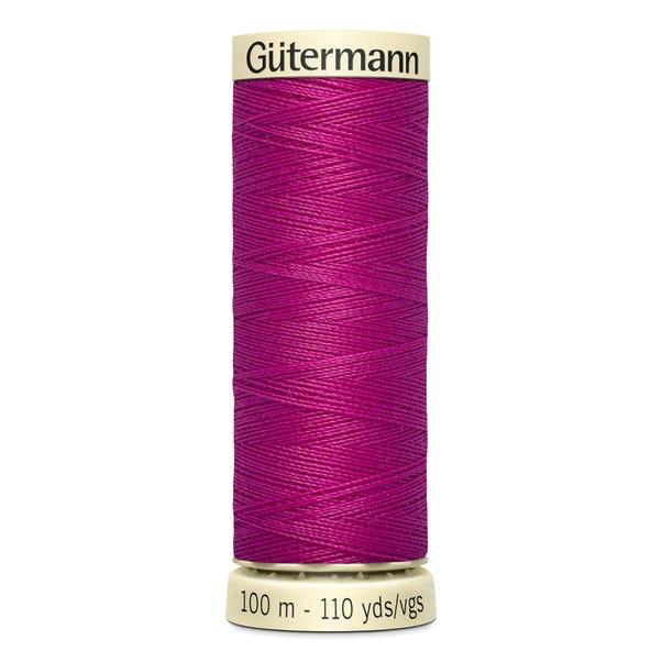 Gutermann Sew All Thread 100m Fuchsia (877) Mauve undefined