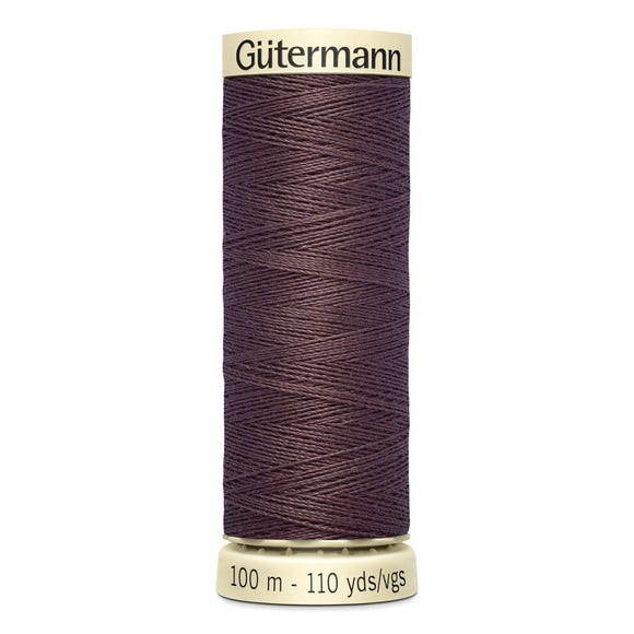 Gutermann Sew All Mid Brown (883)  undefined