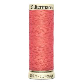 Gutermann Sew All Thread 100m Light Coral (896)