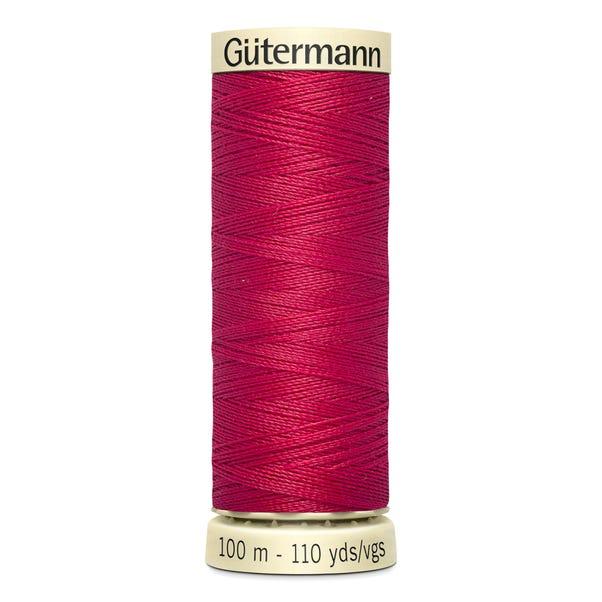 Gutermann Sew All Thread 100m Crimson (909) Red undefined
