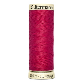 Gutermann Sew All Thread 100m Crimson (909)
