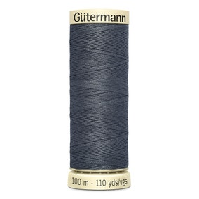 Gutermann Sew All Thread Soft Charcoal (93)
