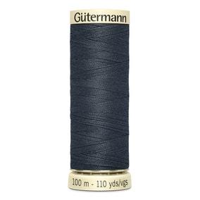 Gutermann 100m Sew All Cotton Thread Anchor Grey (95)