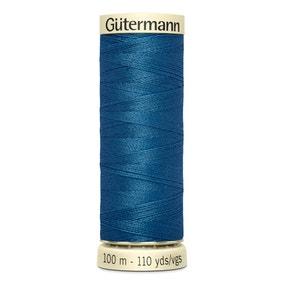 Gutermann Sew All Thread 100m Mineral Blue (966)