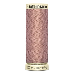 Gutermann Sew All Thread 100m Shell Tan (991)