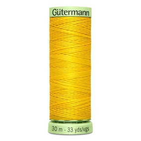 Gutermann Top Stitch Thread 30m Yellow (106)