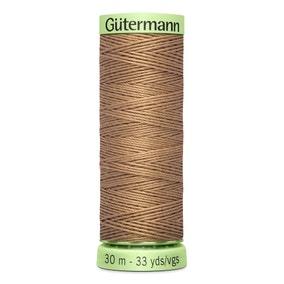 Gutermann Top Stitch Thread 30m Tan (Brown) (139)