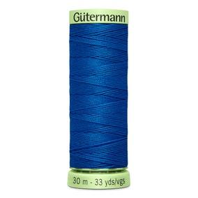 Gutermann Top Stitch Thread 30m Electric Blue (322)