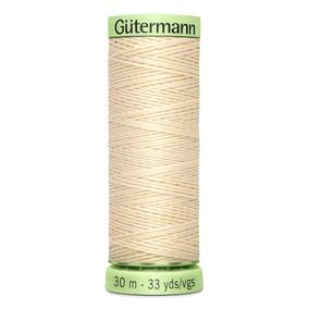 Gutermann Top Stitch Thread 30m Ivory (414)