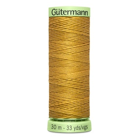 Gutermann Top Stitch Thread 30m Gold (968)
