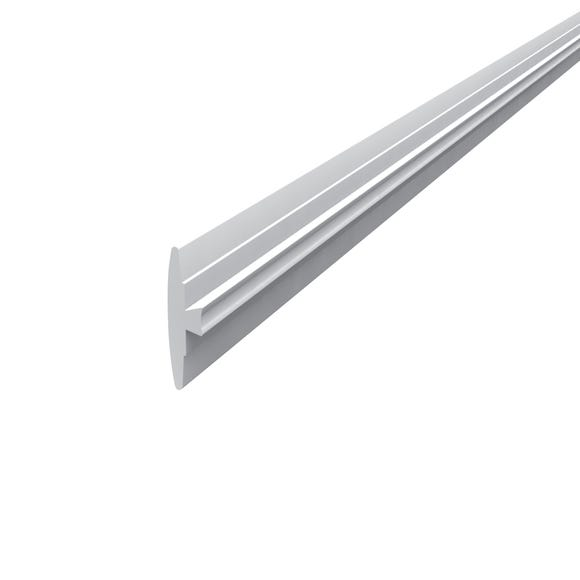 Plastic Curtain Track White undefined