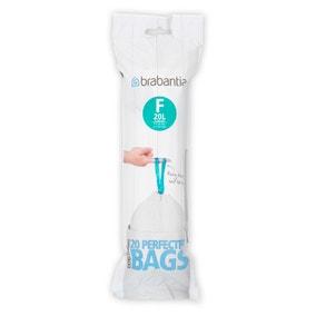 Brabantia 20-Litre Smart Fix Slim Waste Bags