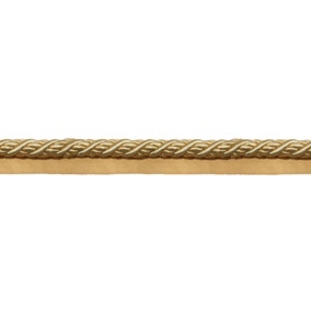 Classic Flanged Cord Gold Trim