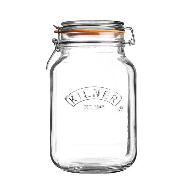 Kilner 2 Litre Preserve Jar Clear