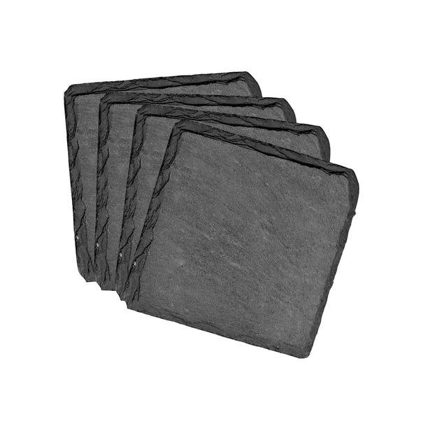 Slate Coasters Slate (Grey)