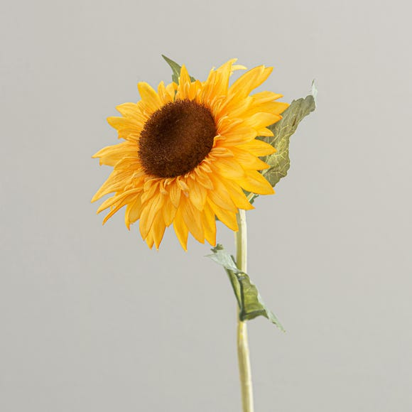 Artificial Sunflower Yellow Single Stem 68cm Yellow