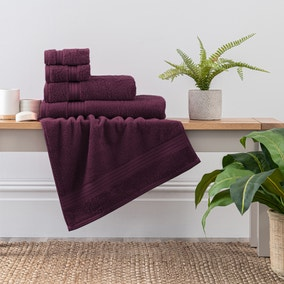 Grape Egyptian Cotton Towel