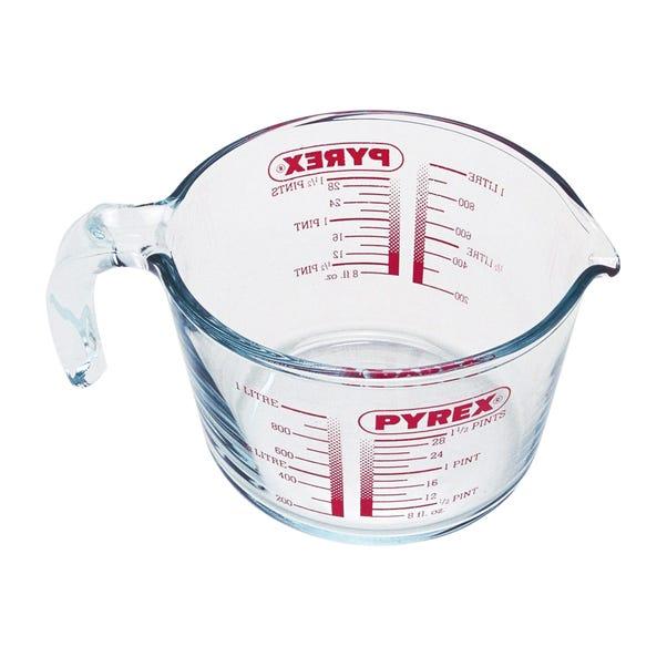 Pyrex 1 Litre Measuring Jug Clear