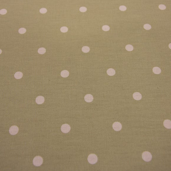 Dotty Fabric Sage Cotton Fabric Sage (Green)
