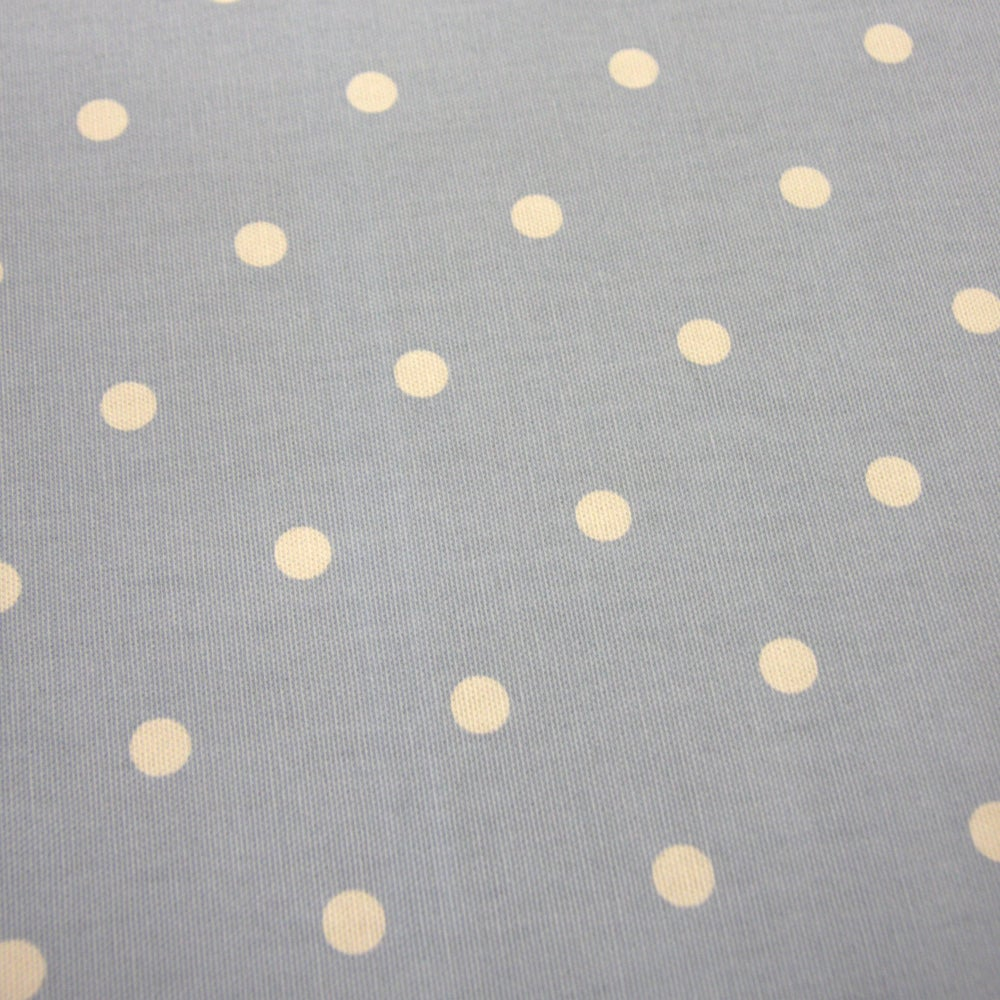 Photo of Dotty fabric blue