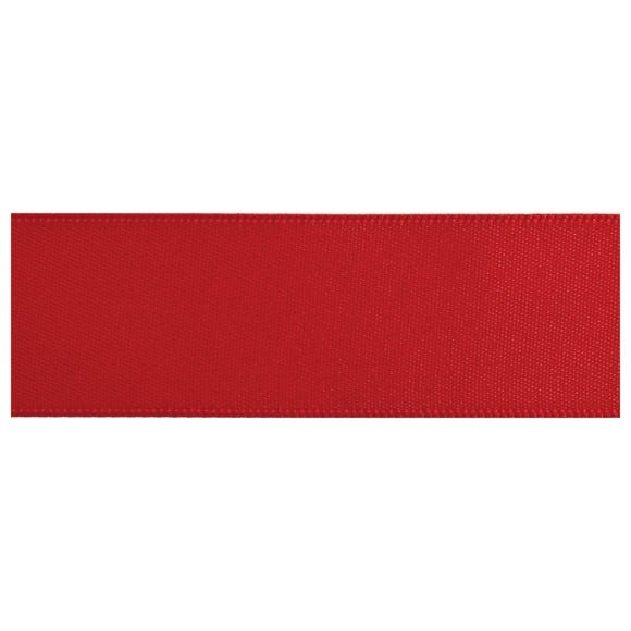 Red Satin Ribbon  undefined