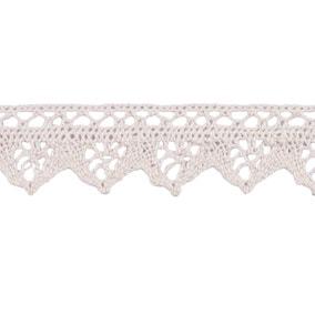 Cotton Lace 30mm Natural ET239NAT