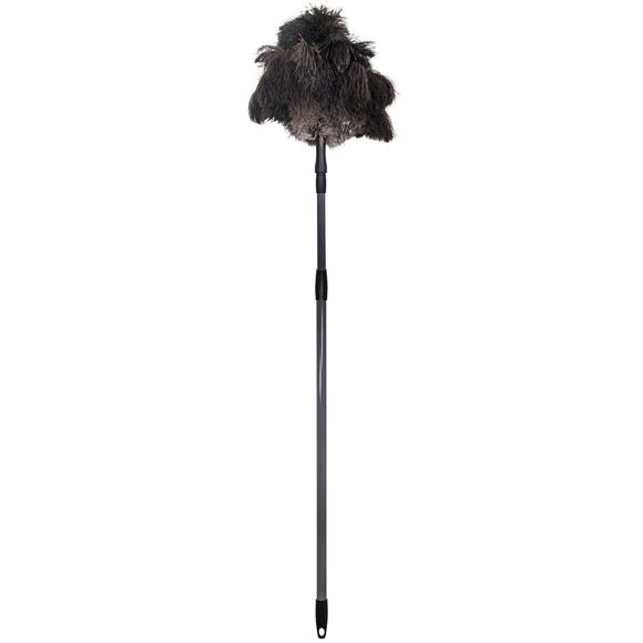 Ostrich Feather Extendable Duster Multi Coloured