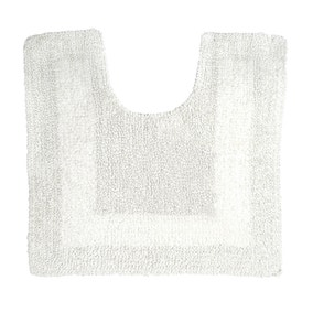 Super Soft Reversible White Pedestal Mat